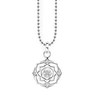 Thomas Sabo Women Necklace Crown Chakra 925 Sterling Silver KE1682-051-21