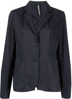 Raeburn Laundered single-breasted organic cotton blazer