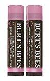 Burt's Bees 100% Natural Moisturizing Tinted Lip Balm, Pink Blossom (Pack of 2)