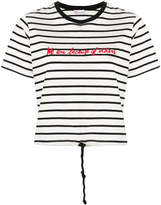 RED Valentino embroidered Breton top