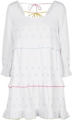 Olivia Rubin Odelia embroidered cotton mini dress