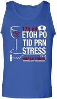 TEEHAY It's Nurse Thing You Wouldn't Understand T Shirt - Funny Nurse Tank Top (M,Navy)