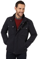 J By Jasper Conran Big And Tall Navy Lightweight Biker Style Jacket