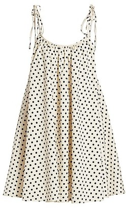 Andamane Dalila Polka Dot Dress