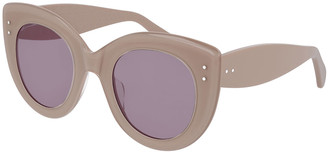 Alaia Monochromatic Cat-Eye Sunglasses