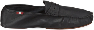 Bally Men's Goat Leather Penny Drivers