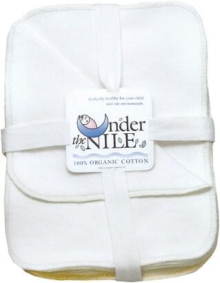 Under the Nile Set of 12 Organic Egyptian Cotton Washcloths
