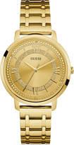 GUESS Women's Gold-Tone Stainless Steel Bracelet Watch 40mm U0933L2