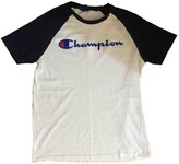 Champion White Cotton Top for Women