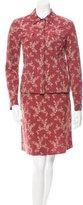 Piazza Sempione Paisley Jacquard Skirt Set