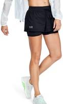 Under Armour Women's UA Qualifier Speedpocket 2-in-1 Shorts