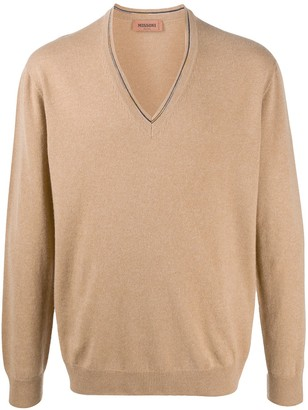 Missoni cashmere V-neck jumper