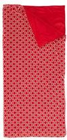 Swankie Blankie Kids' Plush Quatrefoil Sleeping Bag, Red
