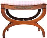 One Kings Lane Vintage Regency-Style Vanity Bench