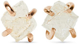 Melissa Joy Manning 14-karat Gold Diamond Earrings - one size