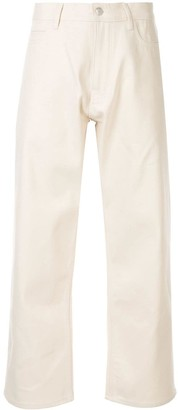 Studio Nicholson high-waisted cropped jeans