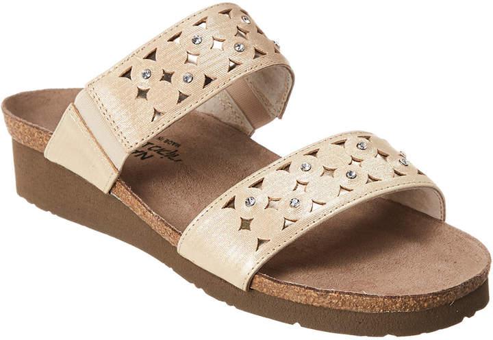 Naot Footwear Susan Wedge Leather Sandal