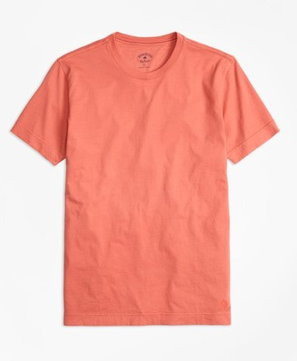 Brooks Brothers Garment-Dyed Jersey-Knit T-Shirt