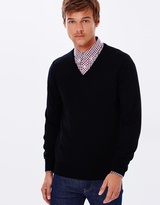 Ben Sherman Merino V-Neck Sweater