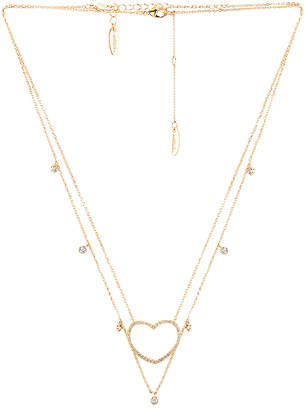 Ettika Layered Heart Necklace