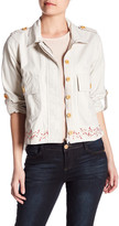 Democracy Embroidered Short Jacket