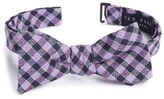 Ted Baker Check Silk & Wool Bow Tie