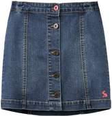 Joules Girls Vickie A Line Denim Skirt