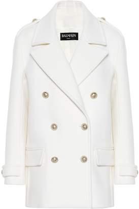 Balmain Wool pea coat
