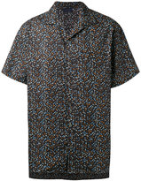 Lanvin printed short sleeve shirt - men - Cotton - 37