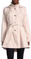 Betsey Johnson Flared Trench Coat