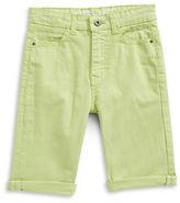 Manguun Stretch Cotton Twill Shorts