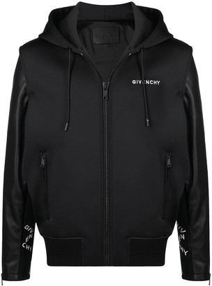 Givenchy Logo-Print Hoodie