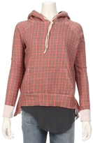 TEE LAB By FRANK & EILEEN Plaid Pullover Hoodie Sweatshirt