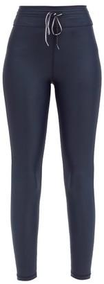 The Upside Icon Technical-jersey Performance Leggings - Dark Navy