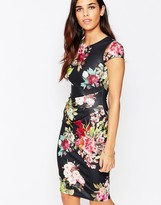 Jessica Wright Eden Floral Pencil Dress