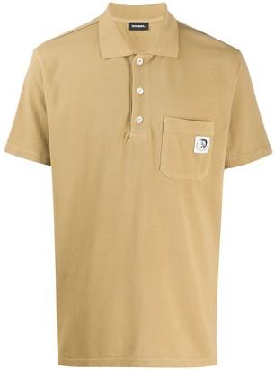 Diesel Mohawk Patch Polo Shirt
