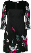 Blumarine floral jacquard dress