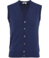 John Smedley Standard Fit Merino Wool Stavely Waistcoat