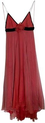 Matthew Williamson Orange Silk Dresses