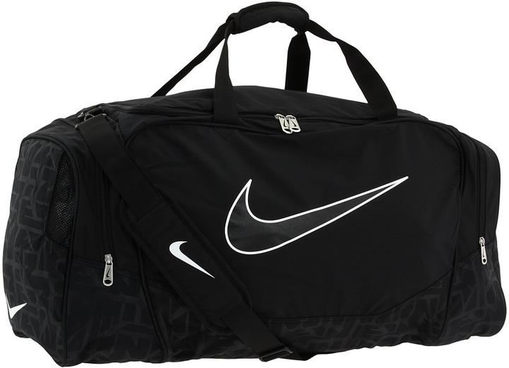 Nike Brasilia 5 Large Duffel/Grip (1 Duffel) (Black/Black/(Black)) - Bags and Luggage