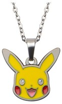 "Pokemon Pikachu Enamel Pendant with Chain (18"" + 2"" ext.)"