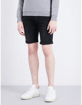 Replay Anbass Mid-rise Skinny Cotton Shorts