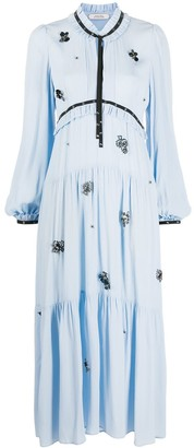 Dorothee Schumacher Floral Applique Shift Dress