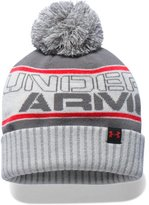 Under Armour Boys' UA Pom Beanie