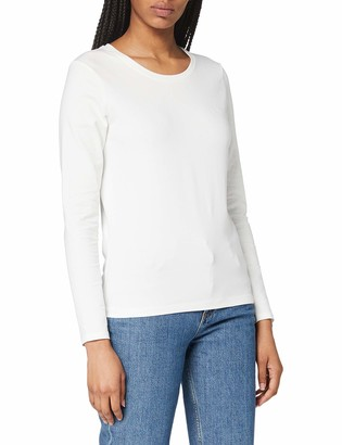 Gant Women's COTT/ELA C-Neck LS T-Shirt