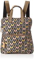 Orla Kiely Women's Printed Backpack Tote Backpack Handbag