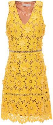 MICHAEL Michael Kors Floral-appliqued Corded Lace Dress