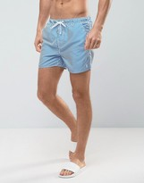 French Connection Striped Swim Shorts