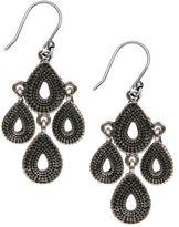 Lucky Brand Tribal Chandelier Earrings