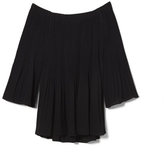 Vince Camuto Pleated Off-the-shoulder Blouse